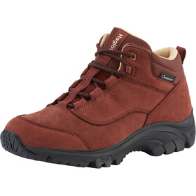 Haglöfs Kummel Proof Eco Shoes Dame Maroon Red
